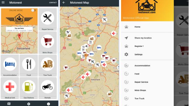 New update for Motonest mobile App