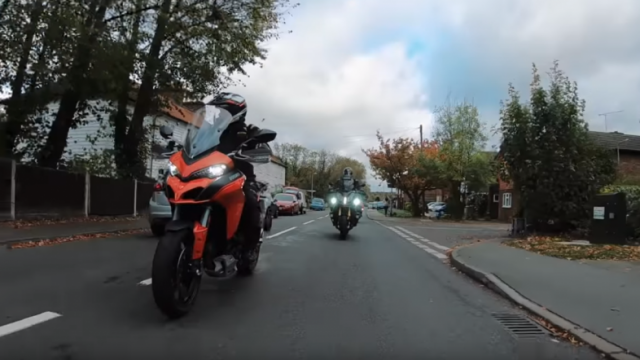 Ducati Multistrada vs …a couch without flat TV