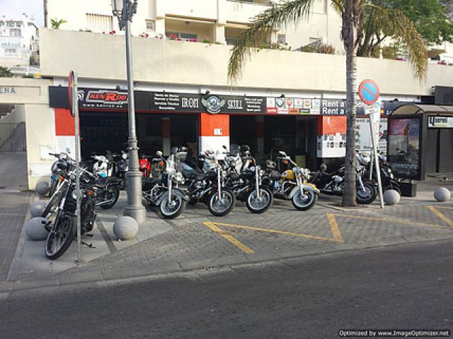 Irons Skull Motorcycles