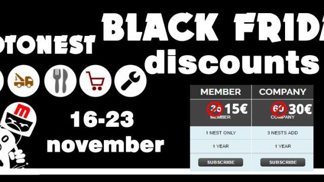 Motonest Black Friday huge discounts!